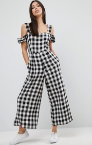 asos-jumpsuit-in-gingham-with-cold-shoulder-detail