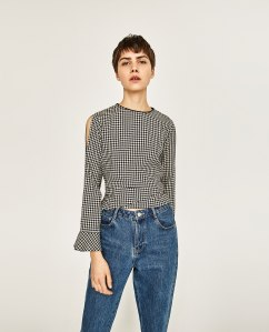 gingham-check-top