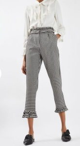 gingham-frill-trousers
