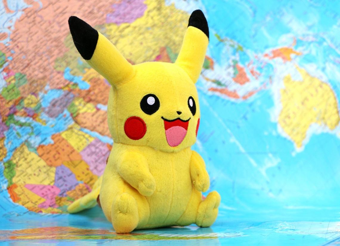 Pikachu Board Map Game Mania Pokemon Territory